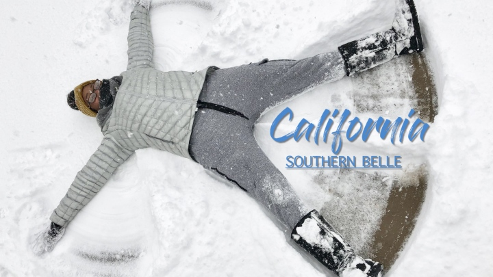 California Southern Belle X Charleston Gets A Snow Day!